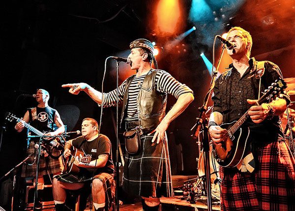celtic punk bands - 600×428